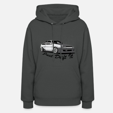 Toyota AE86 Just Drift it - Women's Hoodie