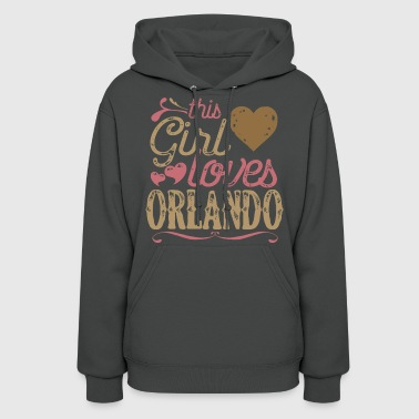 This Girl Loves Orlando - Women's Hoodie