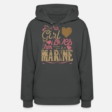 Marine Girlfriend This Girl Loves her Marine - Women&#39 ...