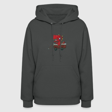 Dragon in a Wagon - Women's Hoodie
