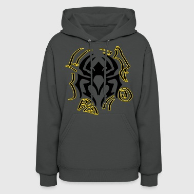 spider tattoed illustration art - Women's Hoodie