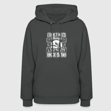 I Don't Need Therapy, I Need To Go To Rhode Island - Women's Hoodie