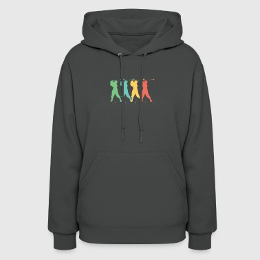 Retro Golf Pop Art - Women's Hoodie