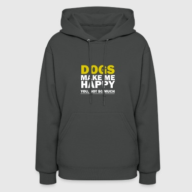 DOGS-MAKE-ME-HAPPY - Women's Hoodie