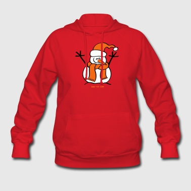 Christmas Snow Man - Women's Hoodie