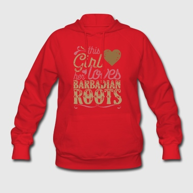 Roots - Barbadian Roots Patriot Shirt Barbados - Women's Hoodie