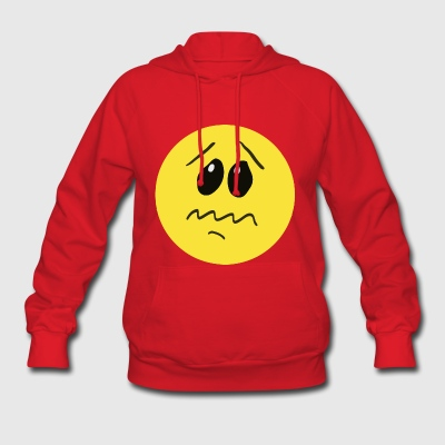 Anxiety Smiley - Women's Hoodie