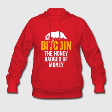 Bitcoin The Badger Of Money - Cryptocurrency - Women's Hoodie