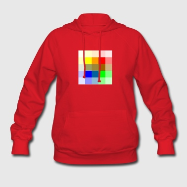 Muli Colored Panel - Women's Hoodie