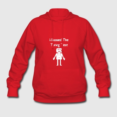 I Passed The Turing Test Alan Turing Geeky Enigma - Women's Hoodie