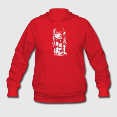 ANGEL_WITH_CROSS - Women's Hoodie