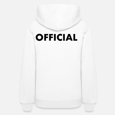 Official Person OFFICIAL - Women's Hoodie