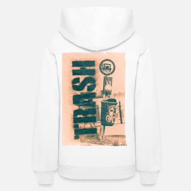 Trash Can Trash - Women's Hoodie