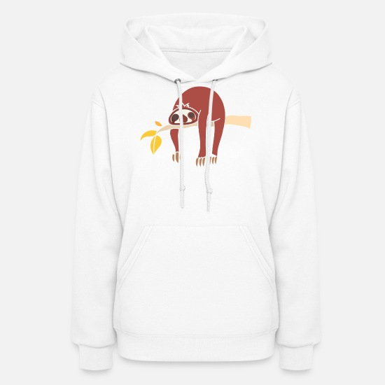 Tired Hoodies & Sweatshirts - koala is tired - Women's Hoodie white