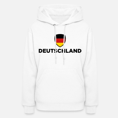 Castle National Flag of Germany - Women's Hoodie