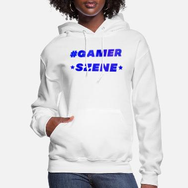 Slogan Gamerscene Funny Gamer Slogan gaming console - Women's Hoodie