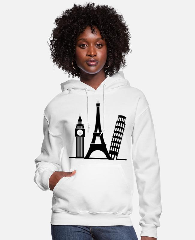 Great Hoodies & Sweatshirts - Europe (1c)++ - Women's Hoodie white