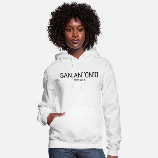 San Antonio Hoodies & Sweatshirts - San Antonio - Women's Hoodie white