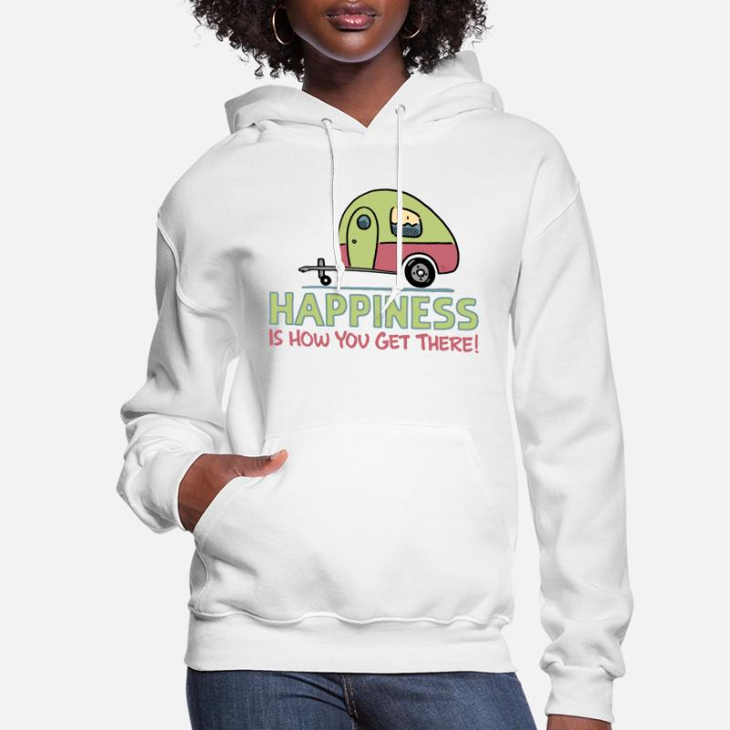 CARAVAN JUMPER CAMPING SWEATER CAMPERVAN SWEATSHIRT S-XXL GOOD AWNING CAMPERS