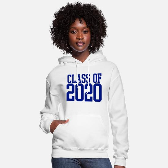 2020 Hoodies & Sweatshirts - CLASS OF 2020 - Women's Hoodie white