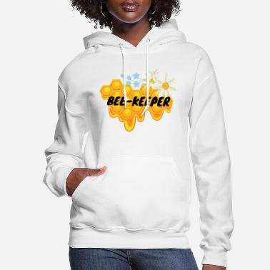 Nobleness Bee Keeper Honey Flower - Women's Hoodie