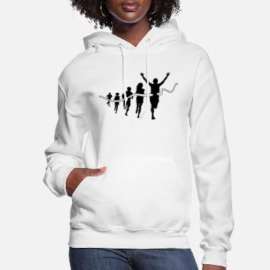 Finishing line - Women's Hoodie