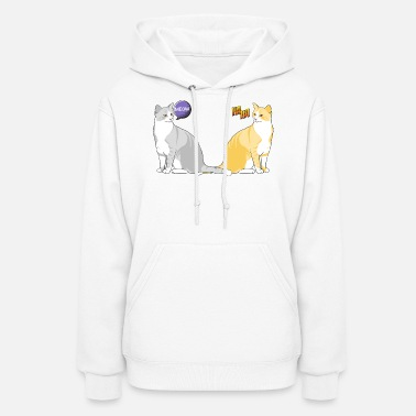 Funny Cats funny cats - Women's Hoodie