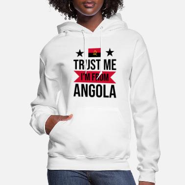 Love You Funny Angola Saying for Angolans as a gift idea - Women's Hoodie