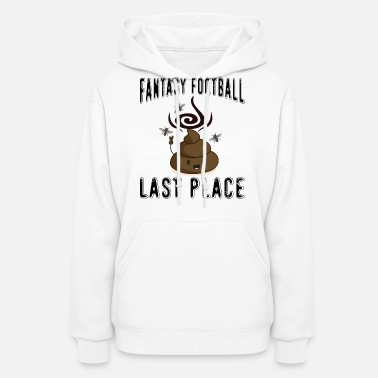 Poop Emojis product Fantasy Football Last Place Women's Maternity T-Shirt -  white