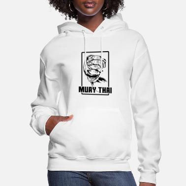 Punch Muay Thai Fist - Women's Hoodie