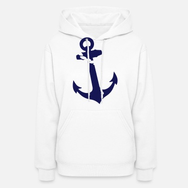 Anchor with Rope Women's Wide-Neck Sweatshirt | Spreadshirt