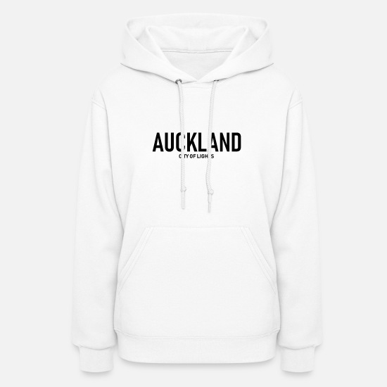 City Hoodies & Sweatshirts - Auckland - City of Lights - New Zealand - Aotearoa - Women's Hoodie white