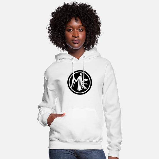 Vision Hoodies & Sweatshirts - Mike Circle Shirt - Women's Hoodie white