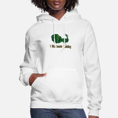 i like hands painting - Women's Hoodie