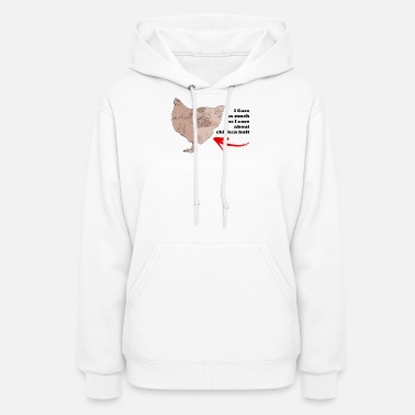 does not itch does not care does not itch - Women's Hoodie