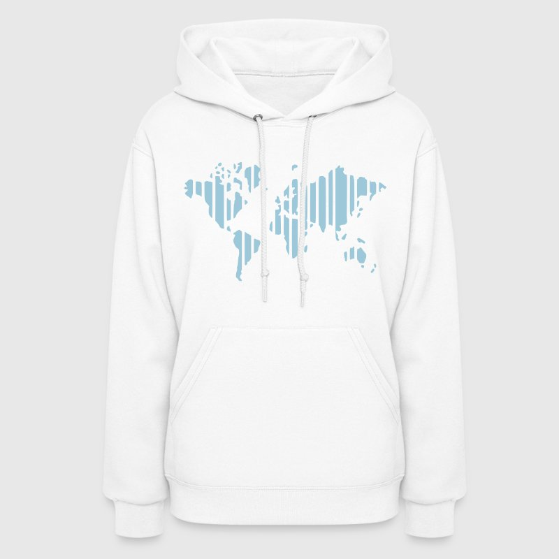 Earth world map hoodie spreadshirt earth world map womens hoodie gumiabroncs Images