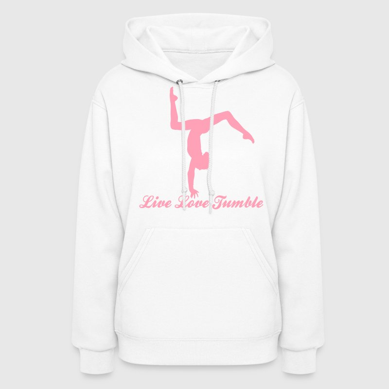 Gymnastics Live Love Tumble with Tumbler  - Women's Hoodie