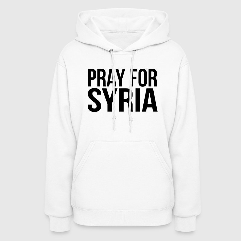 PRAY FOR SYRIA - Women's Hoodie