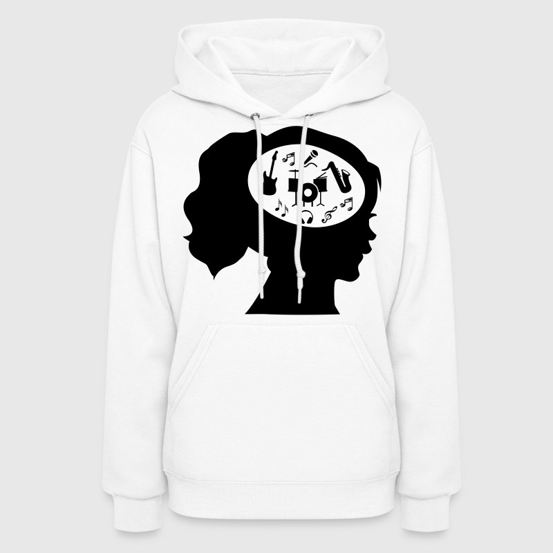 Only Music On My Mind - Women's Hoodie