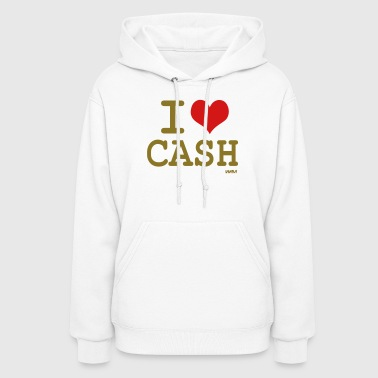 i love cash money by wam - Women's Hoodie