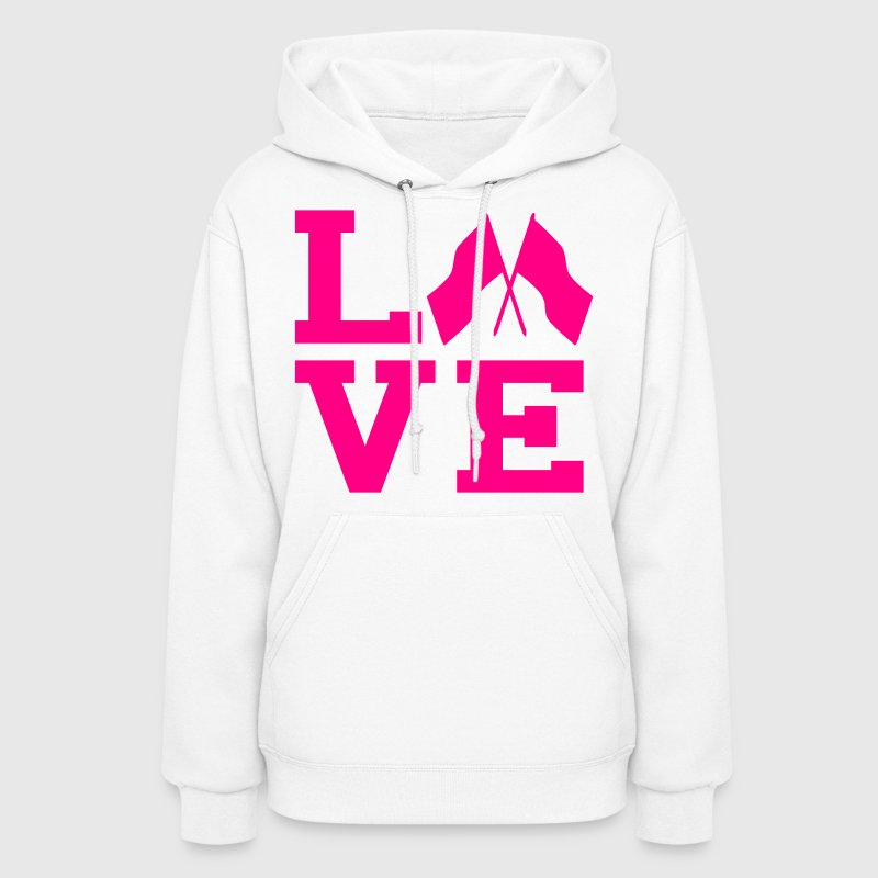 love color guard - Women's Hoodie