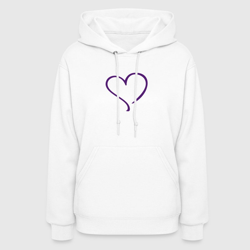 purple heart - Women's Hoodie