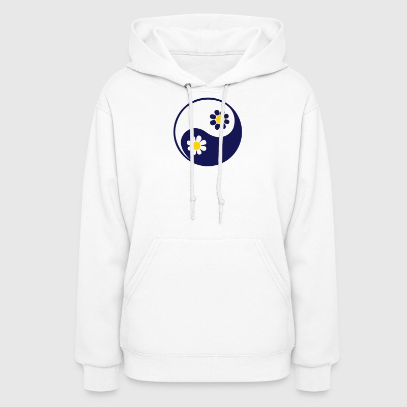 YING YANG, 2c, Taoist symbol, symbol of perfect balance, ancient chinese symbol /  - Women's Hoodie