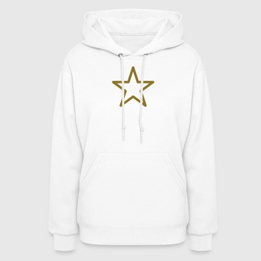 star outline - Women's Hoodie