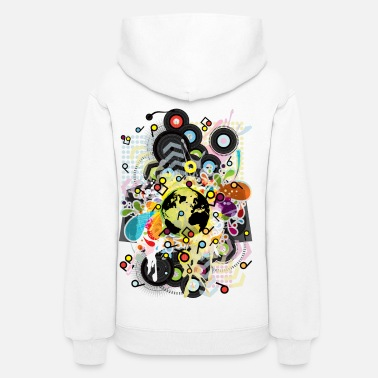 Hip Hop Earth_Music - Women's Hoodie