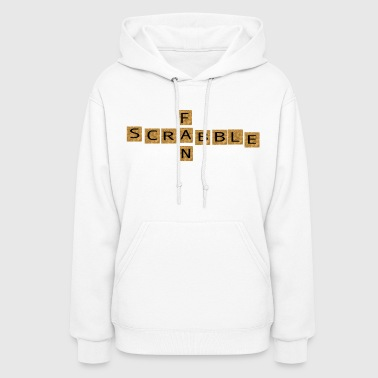 wordtease SCRABBLE FAN games brownz - Women's Hoodie
