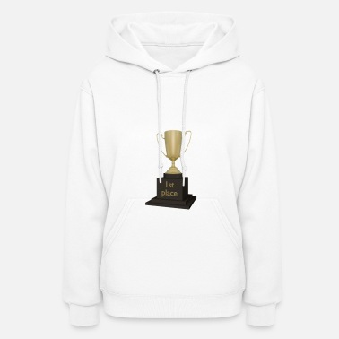 First Place 1st Place Trophy (First) - Women's Hoodie
