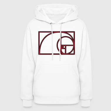 Golden Spiral (ADD CUSTOM TEXT) - Women's Hoodie