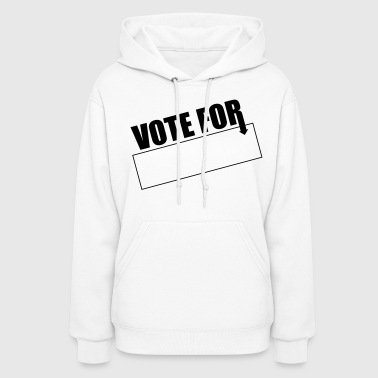 Vote for Blank - Women's Hoodie