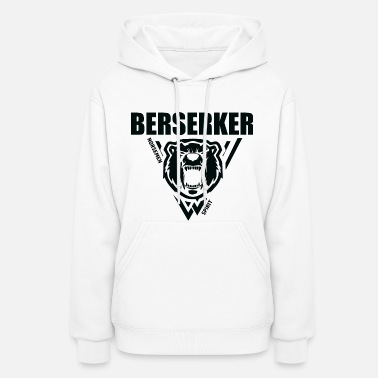 Viking Berserker Vikings Black - Women's Hoodie